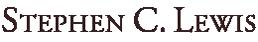 Stephen C. Lewis Logo
